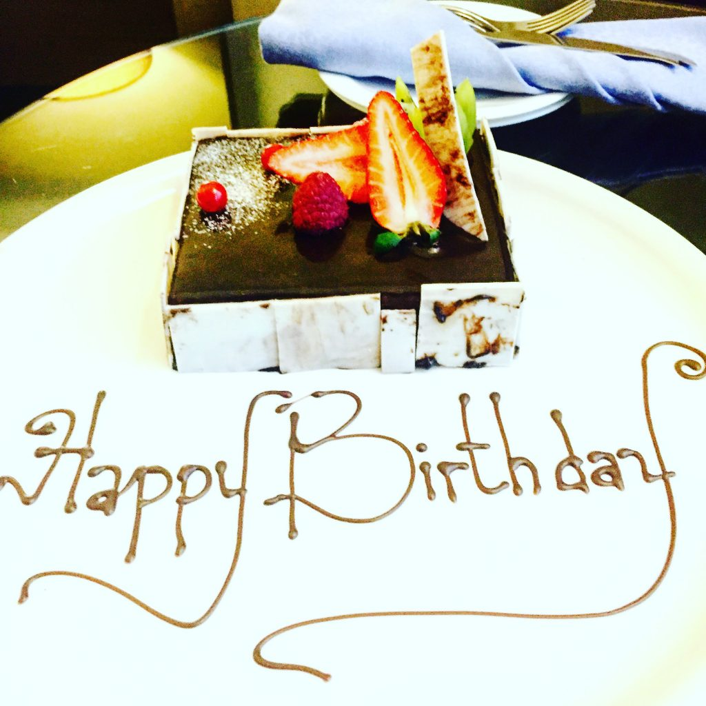 Birthday Cake im Cristal Salam Hotel